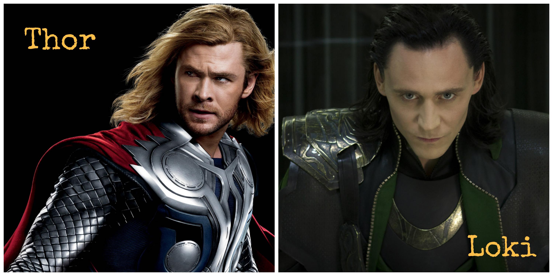 Thor vs  Loki  And the coolest superhero ever  | MelissaTagg com
